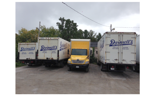 some of our trucks